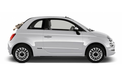 Rent a Car Formentor - CONVERTIBLE (Fiat 500 Convertible or similar)